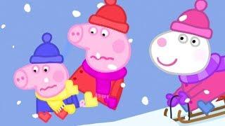 Peppa Pig English Episodes 🎄 Winter Wonderland 🎄 Peppa Pig Christmas   Peppa Pig Official