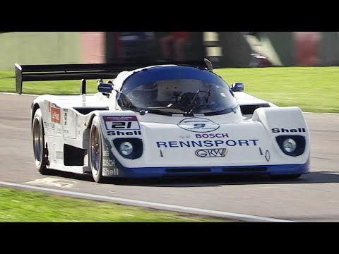 OnBoard the only GKW 862SP Group C Car w/ Porsche 962C Engine at Imola Circuit!