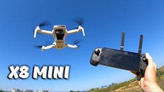 Полный обзор Fimi X8 MINI ... Обзор квадрокоптера, тест режимов.