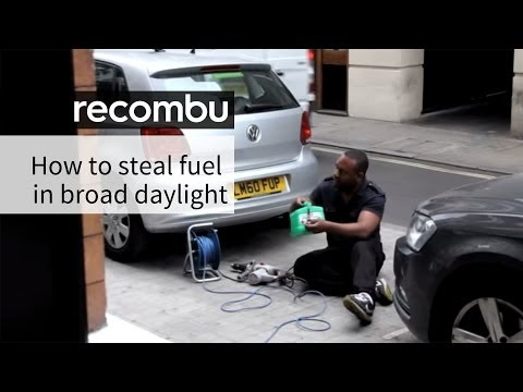 Man steals petrol in broad daylight