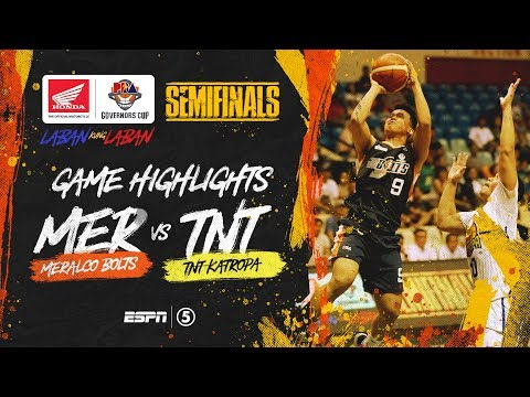 [Sport5]  Highlights: G4: Meralco vs TNT | PBA Governors' Cup 2019 Semifinals