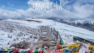 เที่ยวจีน เมืองแชงกรีล่า2018 หุบเขาพระจันทร์สีน้ำเงิน(ภูเขาหิมะสือข่า) @China