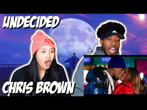 CHRIS BROWN - UNDECIDED | MUSIC VIDEO REACTION