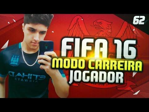 FIFA 16 Modo Carreira Jogador - DUNGA BURRO !!!! #62