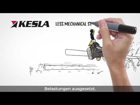 KESLA harvester heads, progressive feeding technology (DEU)