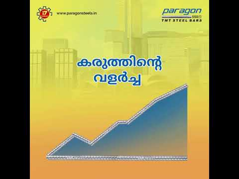 Paragon The Growth of Strength [High Quality TMT Bars]