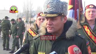 • Соревнования в честь трехлетия Республиканской гвардии ДНР