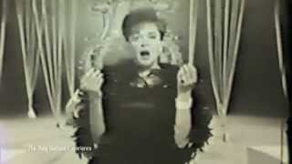 JUDY GARLAND at the top of her game in 1966 Improved Sound