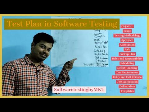 Test Plan in Software Testing