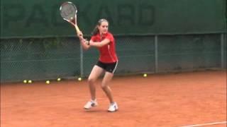 Chris Rea - Tennis - Julia Hickl - Slowmotion, Zeitlupe