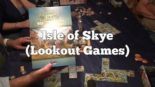 Test Isle of Skye (Lookout Games): Rezension und Beispielrunde von Spiele-Podcast.de