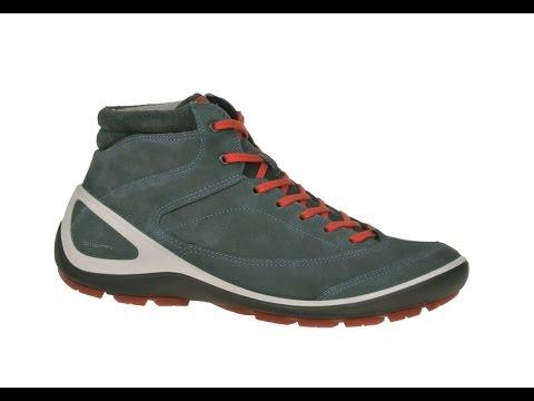 Ecco Biom Grip Schuhe in pavement blau Damen Stiefelette (252-80-0004)