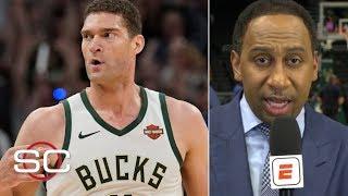 Brook Lopez outshined the Greek Freak in Game 1 vs. Raptors – Stephen A. | SportsCenter