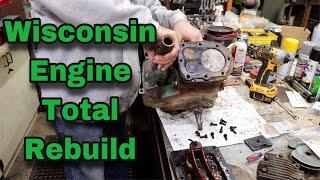 Wisconsin Engine Total Rebuild
