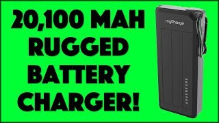 Never Run Out of Battery with the MyCharge AdventureMega - REVIEW