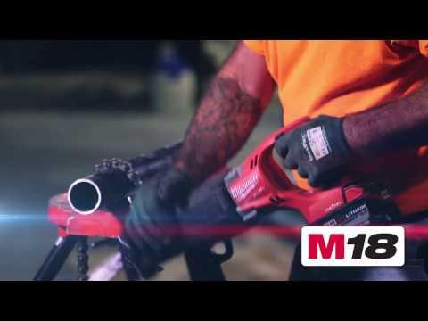 Аккумуляторный технический фен Milwaukee M18