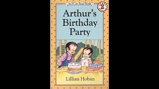 Arthur's Birthday Party By Sithara -- Book Review