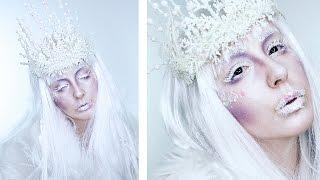 Ice Queen Makeup + Crown Makeup Tutorial! | By Tashaleelyn