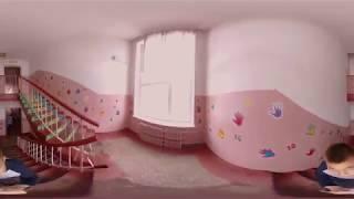Коридорами школи №18 в селищі Коцюбинське (Коцюбинское)