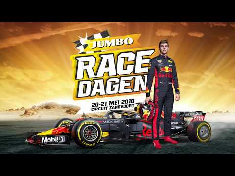 Max Verstappen promoot Jumbo Racedagen in nieuwe commercial
