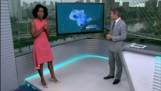 Previsão Do Tempo Para São Paulo No SPTV 2ª Edição (21/01/2017)