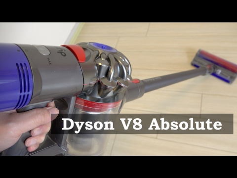 dyson 2017 dyson v8 absolute cordless vacuum demo best. Black Bedroom Furniture Sets. Home Design Ideas