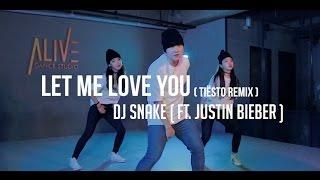 LET ME LOVE YOU(TIESTO REMIX ) - DJ SNAKE(FEAT. JUSTIN BIEBER ) / DOOBU CHOREOGRAPHY