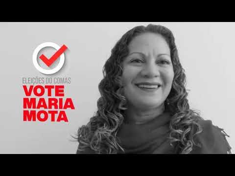 Maria Mota: Eleição do COMAS dia 05/12