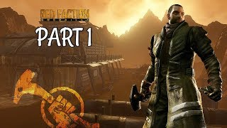 Red Faction Guerrilla Remarstered Walkthrough Part 1 - Intro | PS4 Pro Gameplay