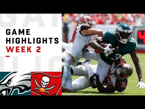Eagles vs. Buccaneers Week 2 Highlights   NFL 2018