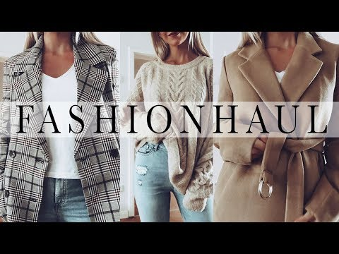 Jacken, Mäntel und Pullover für den Herbst! FASHION HAUL Herbst Outfits | H&M,  Mango, Ivyrevel