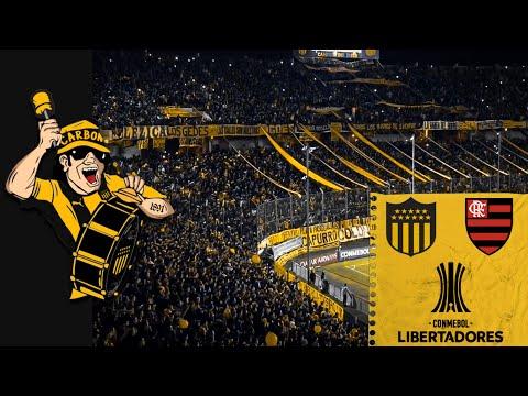 """""""HINCHADA DE PEÑAROL vs Flamengo (BRA) - Copa Libertadores 2019"""" Barra: Barra Amsterdam • Club: Peñarol"""