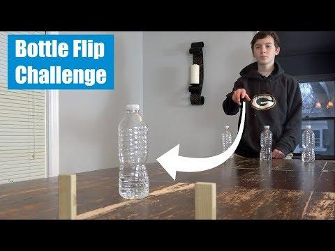 Water Bottle Flip Challenge | That's Amazing