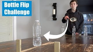 Water Bottle Flip Challenge | That's Amazing