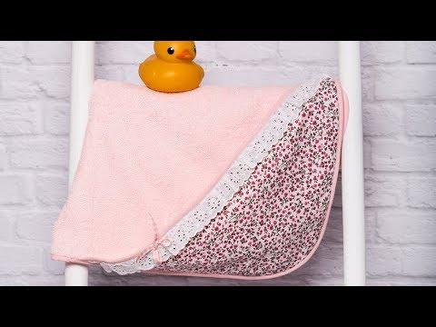 Como hacer una toalla de bebé. REVISTA DE PATRONES INFANTILES Nº 7