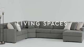 Alder 4 Piece Sectional | Living Spaces