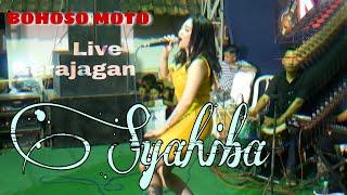 BOHOSO MOTO SYAHIBA SAUFA Feat Dobi Kendang Siluman     LIVE GERAJAGAN    Terbaru