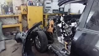Сложный кузовной ремонт Toyota Land Cruiser Prado