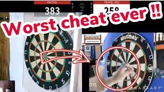 WORST But Also FUNNIEST Online Darts CHEAT