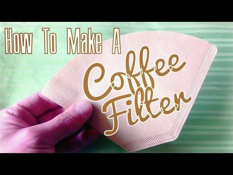 DIY Coffee Filter using Paper Towel - Lifehack