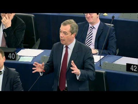 Pour Nigel Farage, l'armée européenne est déjà là. Si si…