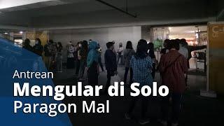 Antrean Pengunjung Mengular di Pintu Masuk Mall Jelang Lebaran, Begini Penjelasan Solo Paragon Mall