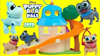 Bingo Tours his Puppy Dog Pals Doghouse Deluxe Friends Play Set