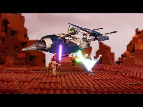 Vidéo LEGO Star Wars 75199 : Speeder de combat du Général Grievous