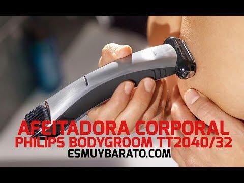 Review de la afeitadora corporal Philips BodyGroom TT2040/32