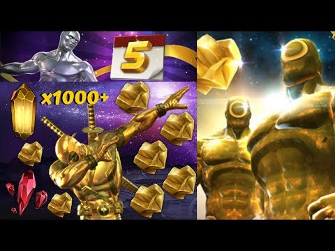 1000+ Gold Crystals! 5 Year Anniversary! Goldpool? - Marvel Contest of Champions