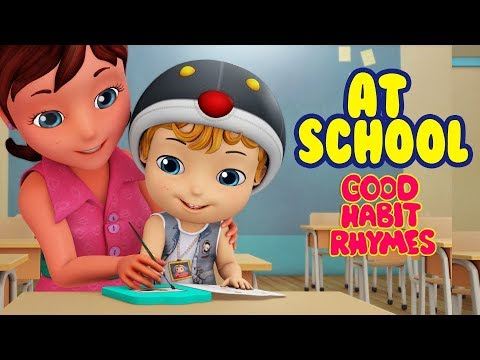 Download Going to School Rhymes for Kids   Good Habit Songs for Children   Infobells Mp4 HD Video and MP3