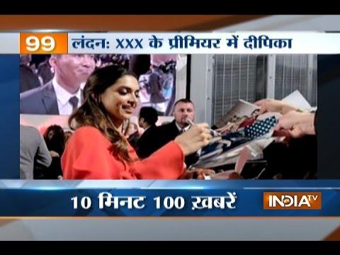 News 100 | 12th January, 2017 - India TV