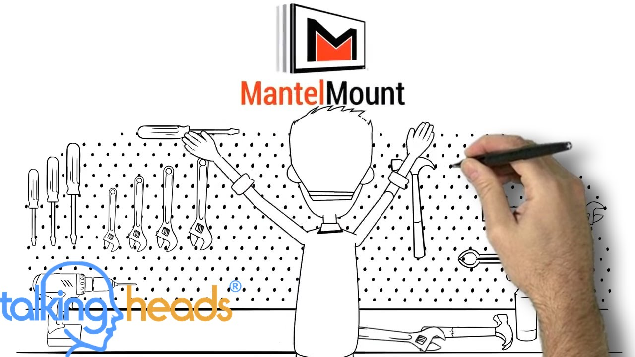 Mantel Mount - Animated Video Example