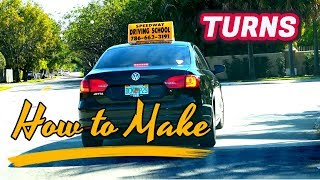 How To Make Turns Driving Lesson for Beginners/Tutorial/Car